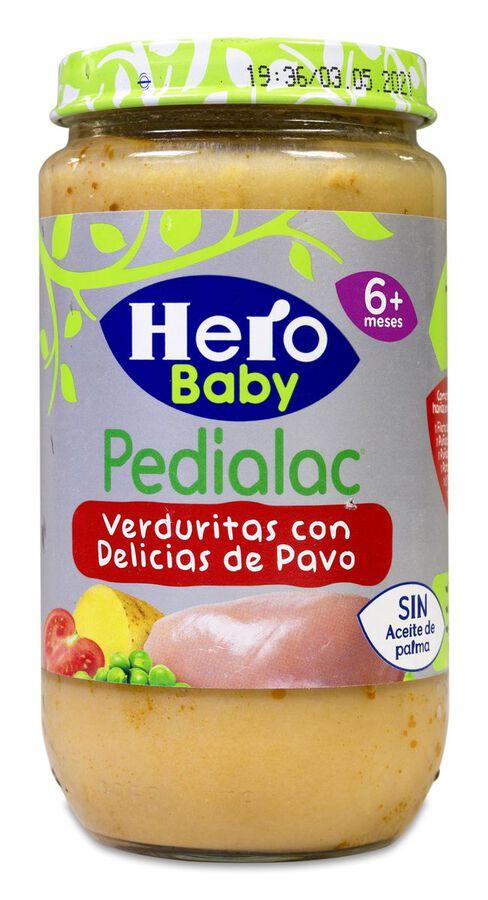 Hero Baby Pedialac Verduras Tiernas con Pavo, 235 g