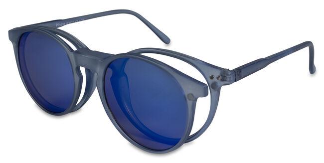 Farline Gafas De Sol Laos Azul Polarizadas 1.0 Dioptría, 1 Unidad