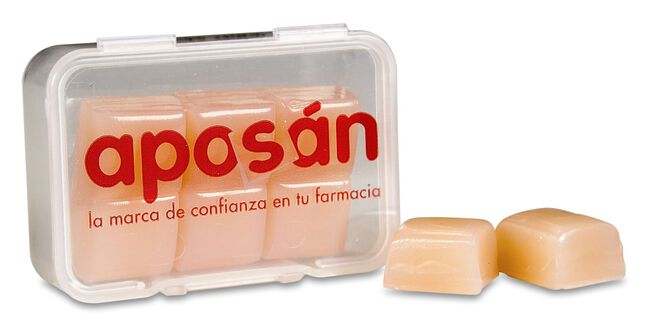 Aposán Tapones Silicona, 6 Uds