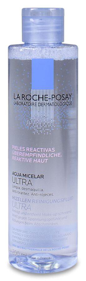 La Roche-Posay Agua Micelar Piel Reactiva, 200 ml