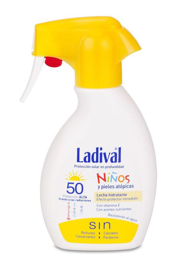 Ladival Spray Niños y Piel Atópica FPS 50+, 200 ml