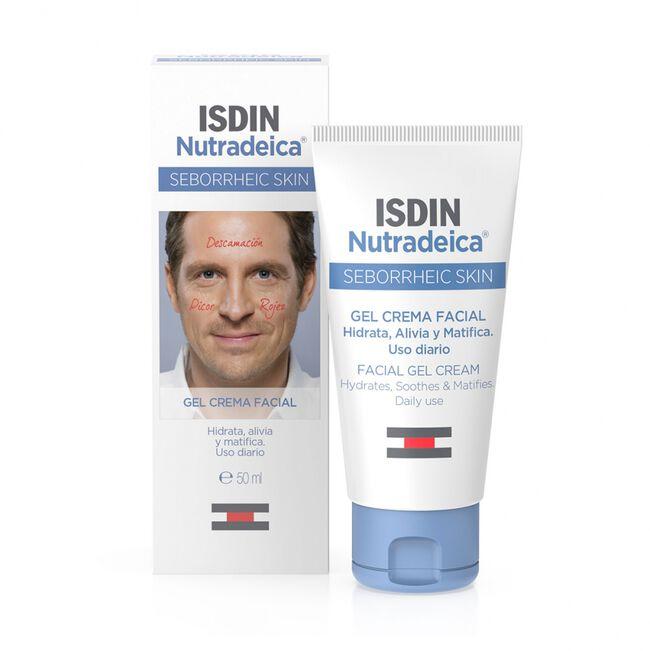 Isdin Nutradeica Gel Crema Facial Piel Seborreica, 50 ml