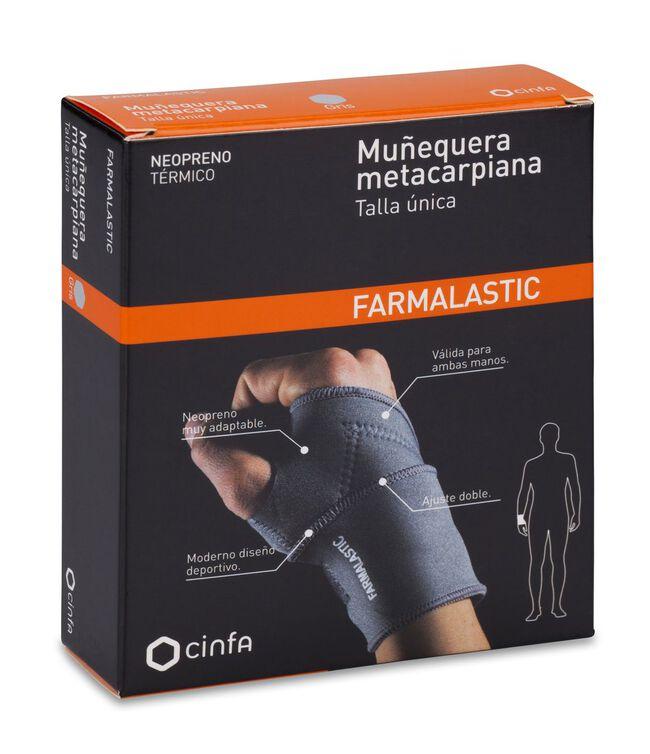 Farmalastic Muñequera Metacarpiana Talla Única, 1 Ud