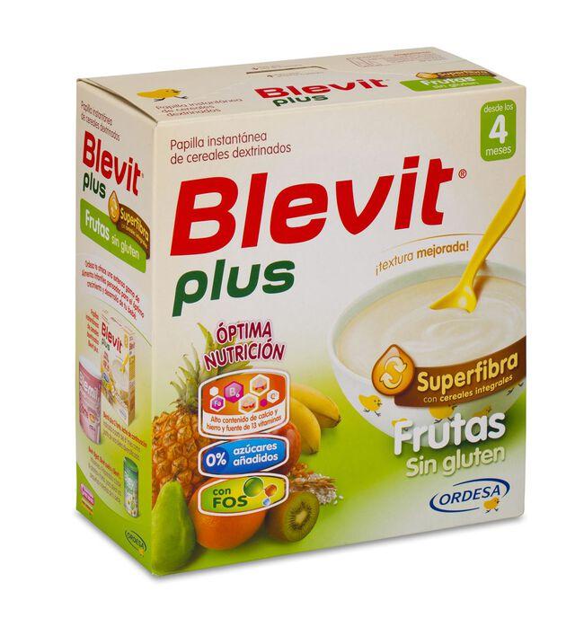 Blevit Plus Superfibra Frutas Sin Gluten, 600 g