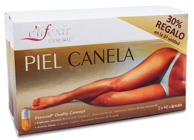 e'lifexir Esenciall Piel Canela, 80 Cápsulas