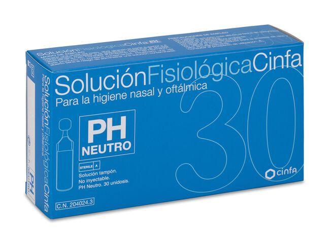 Cinfa Solución Fisiológica, 30 Monodosis