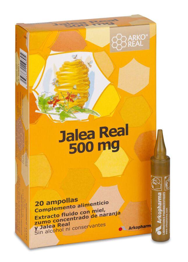 Arkopharma ArkoReal Jalea Real Fresca 500 mg, 20 Ampollas