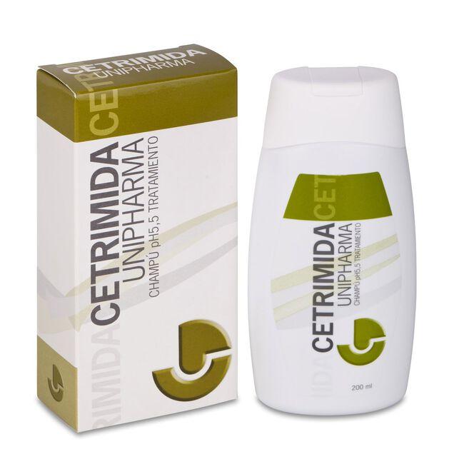 Cetrimida Unipharma Champú, 200 ml
