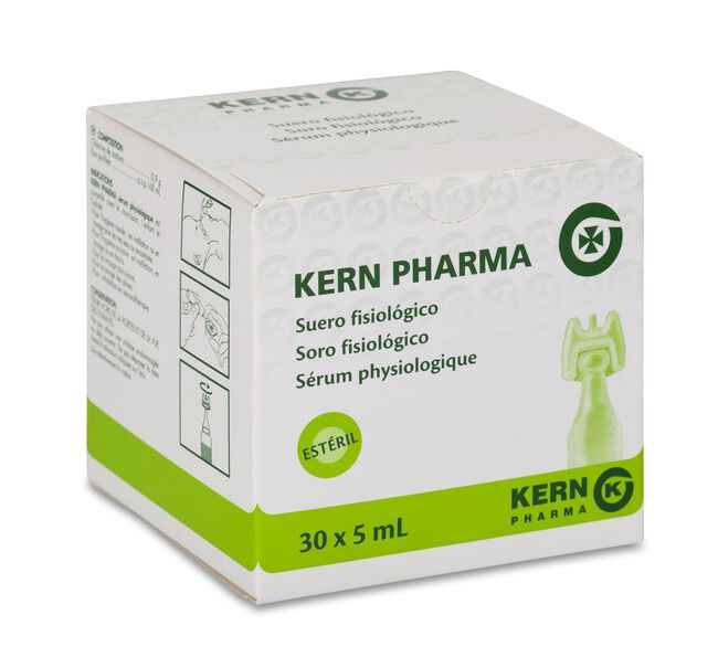 Suero Fisiológico Kern-Pharma, 5 ml