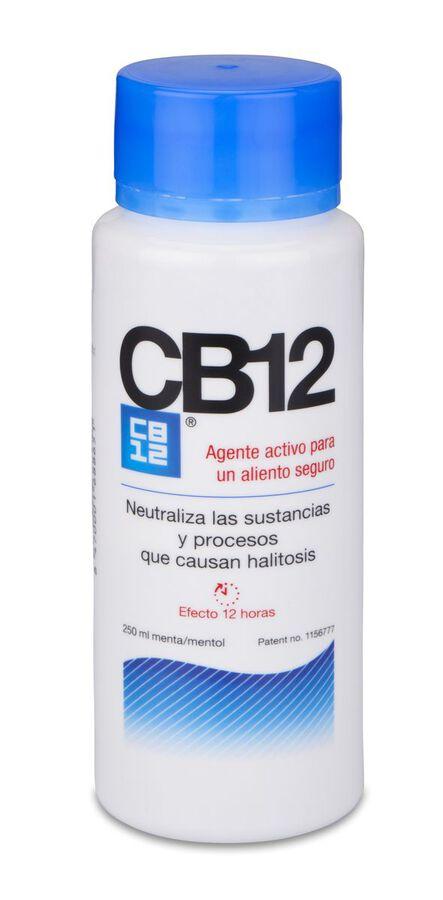CB12 Enjuague Bucal Buen Aliento, 250 ml