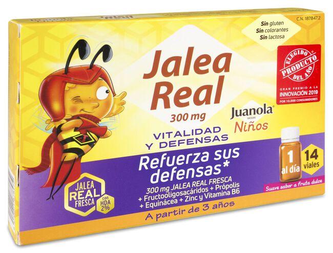 Juanola Jalea Real Niño Vitalidad y Defensas, 14 Viales