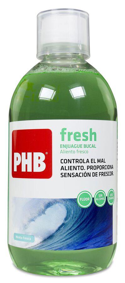 PHB Fresh Enjuage Bucal, 500 ml