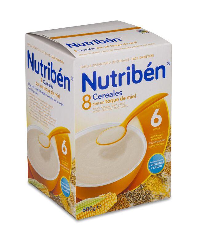 Nutribén 8 Cereales con Toque de Miel, 600 g