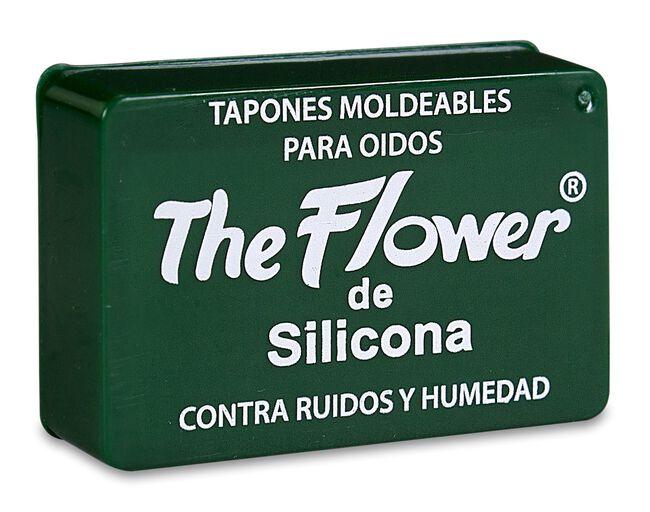 The Flower Tapones para Oídos de Silicona, 6 Uds