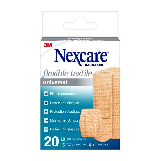 Nexcare Textile Surtido, 20 Uds