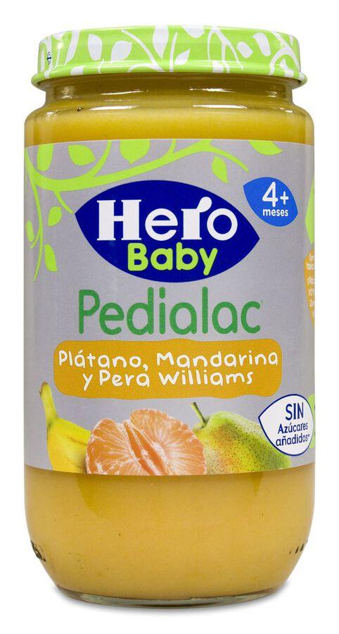 Hero Baby Pedialac Plátano, Mandarina y Pera, 235 g