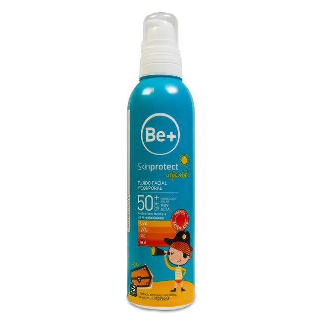 Be+ Skin Protect Spray Infantil SPF 50+, 250 ml