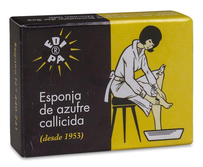 Edipa Esponja de Azufre Callicida, 1 Ud