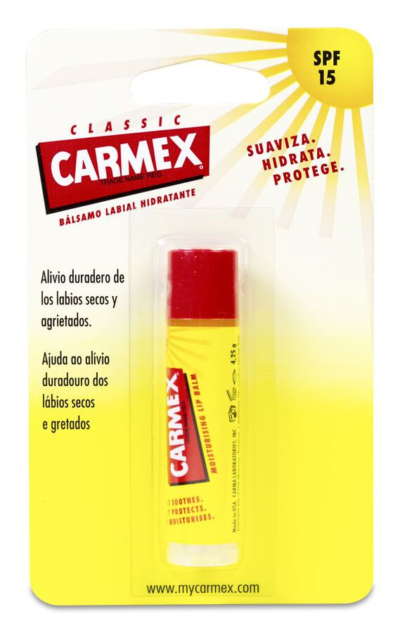 Carmex Stick Labial SPF 15, 4,2 g