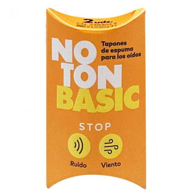 Noton Basic Tapones de Espuma para Oídos, 2 Uds