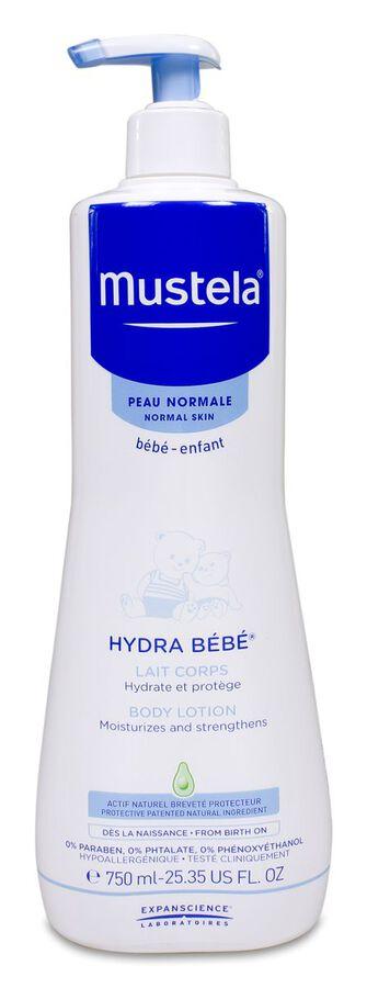 Mustela Hydra Bebé Leche Corporal, 750 ml
