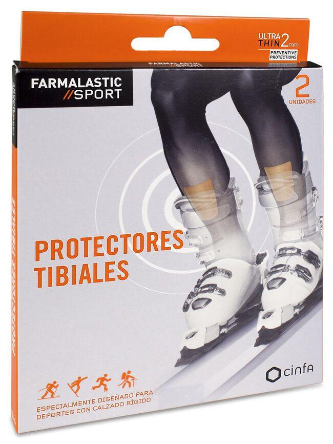 Farmalastic Sport Protectores Tibiales, 2 Uds