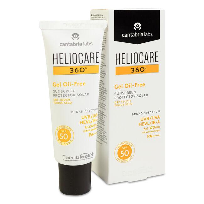 Heliocare 360º SPF 50 Fluido Gel Oil Free Protector Solar, 50 ml