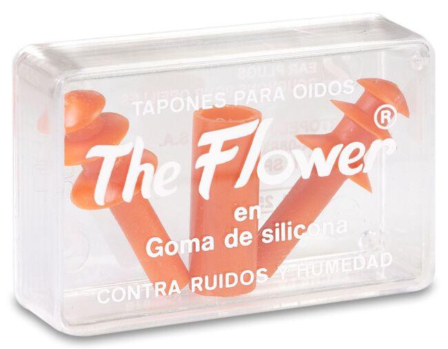 The Flower Tapones para Oídos de Goma, 2 Uds