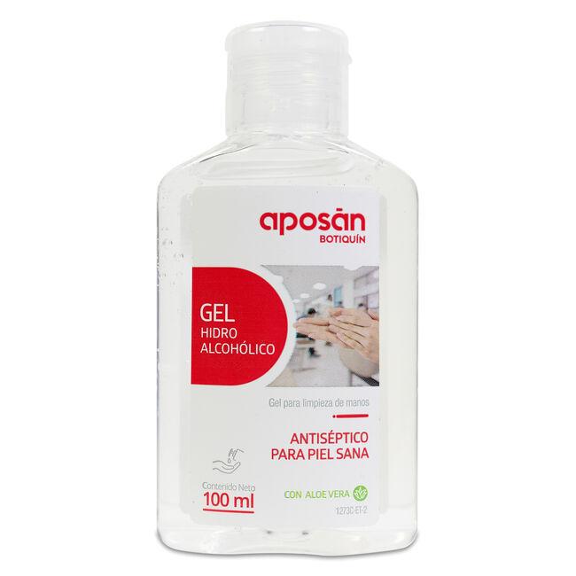 Aposán Gel Biocida Desinfectante Manos 72% Alcohol, 100 ml
