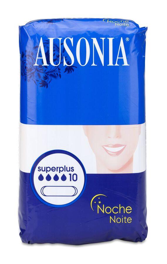 Ausonia Superplus Noche, 10 Uds