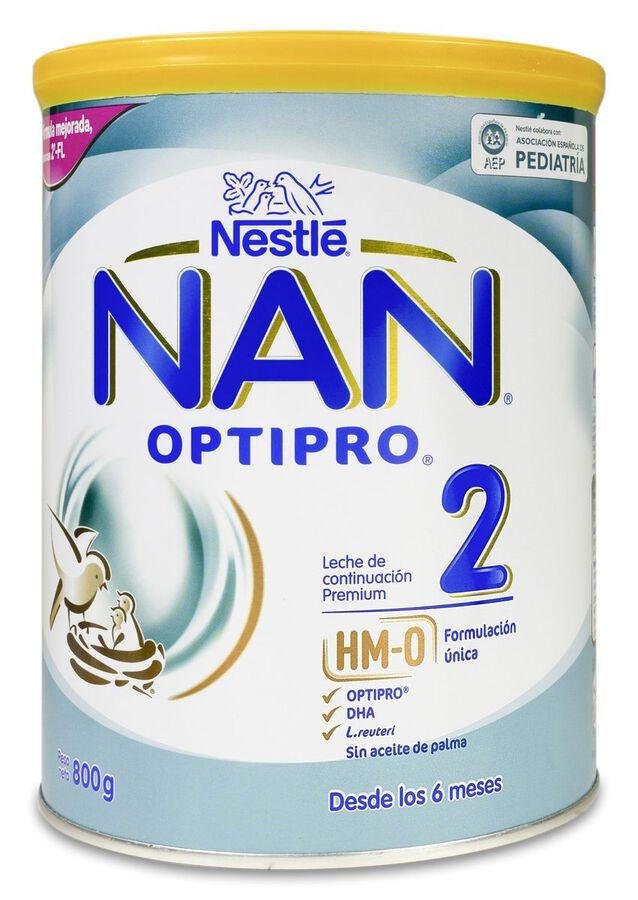 NAN Optipro 2 Leche en Polvo, 800 g