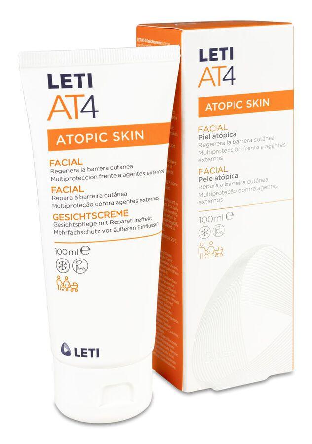 LETI AT4 Facial Piel Atópica y Seca, 1000 ml