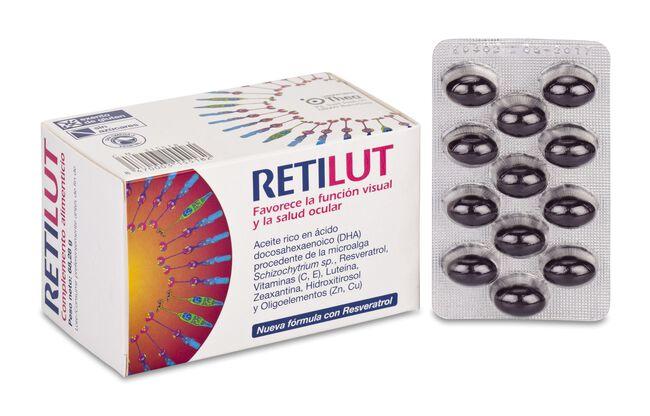 Retilut, 60 Cápsulas