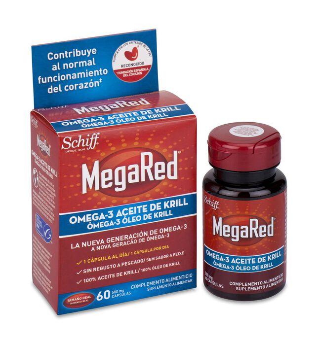MegaRed 500 mg, 60 Cápsulas