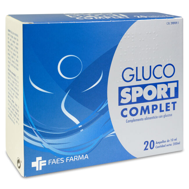 Glucosport Complet, 20 Ampollas