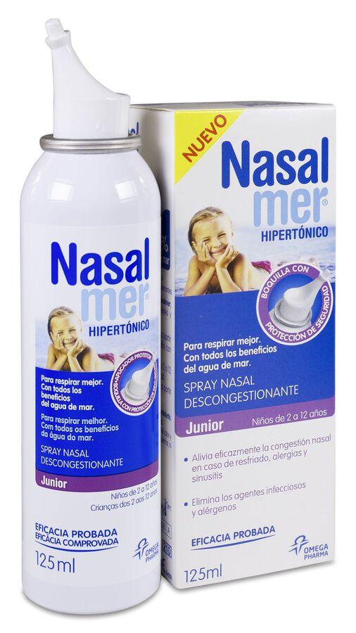 Nasalmer Spray Nasal Hipertónico Junior, 125 ml