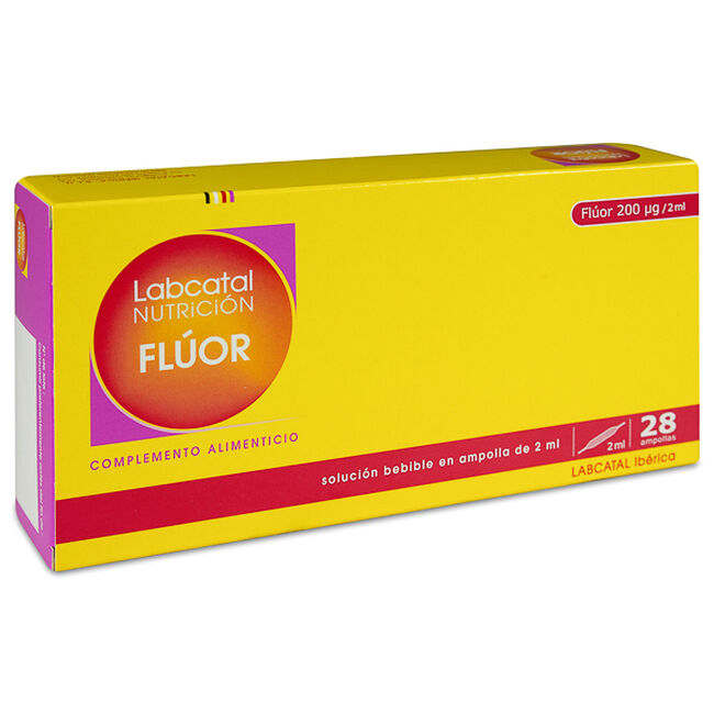 Labcatal Nutrición Flúor, 28 Ampollas