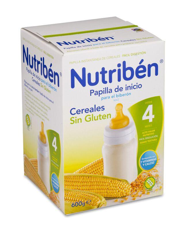 Nutribén Papilla de Inicio para Biberón, 600 g