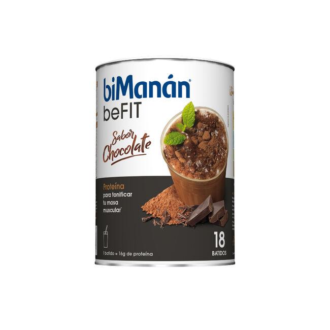 biManán beFit Batido Sabor Chocolate, 18 Uds