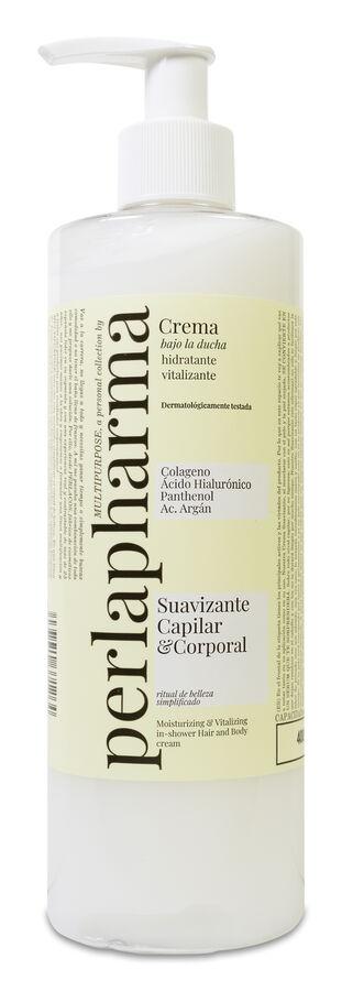 Perlapharma Multipurpose Crema de Ducha Corporal, 400 ml
