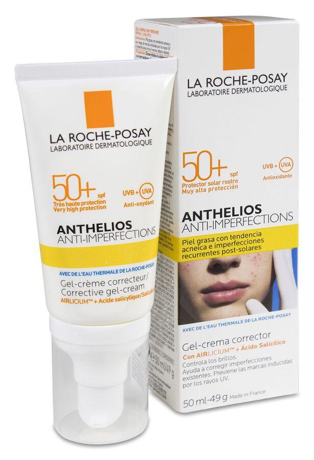 La Roche-Posay Anthelios Anti-imperfecciones SPF 50+, 50 ml