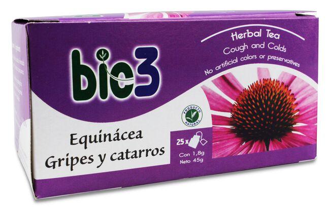 Bie3 Equinacea Gripes y Catarros, 25 Uds