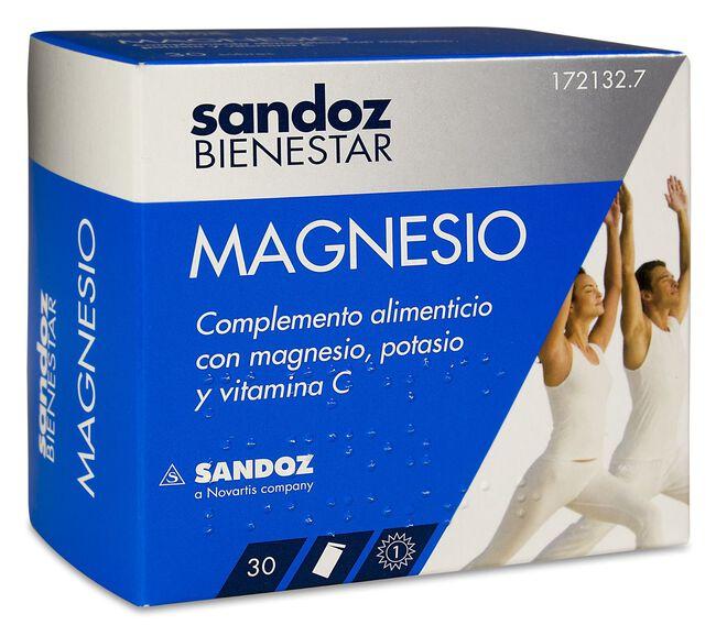 Sandoz Bienestar Magnesio, 30 Sobres