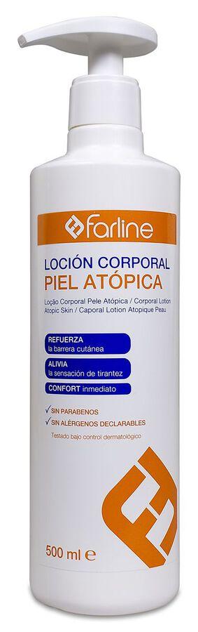 Farline Loción Corporal Piel Atópica, 500 ml
