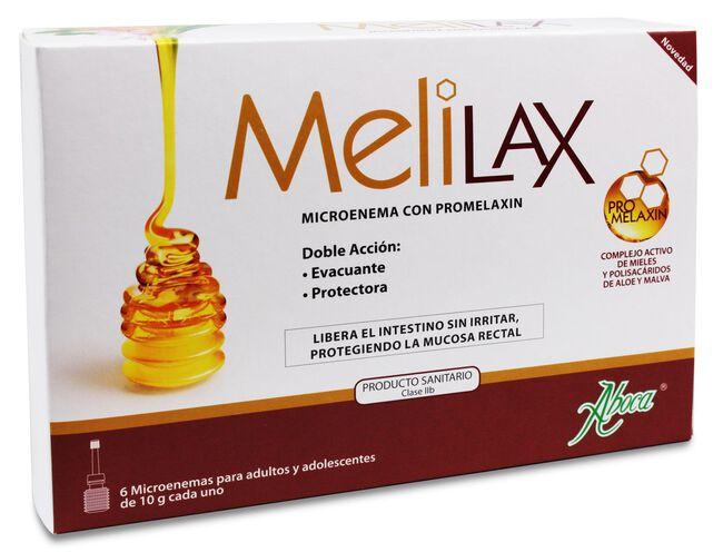 Aboca Melilax Microenema 10 g, 6 Uds