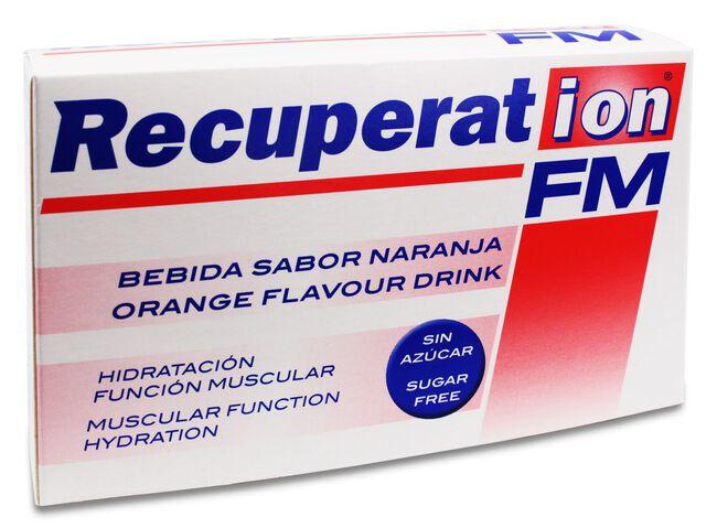 Recuperat-Ion FM Sabor Naranja Sin Azúcar, 20 Sobres