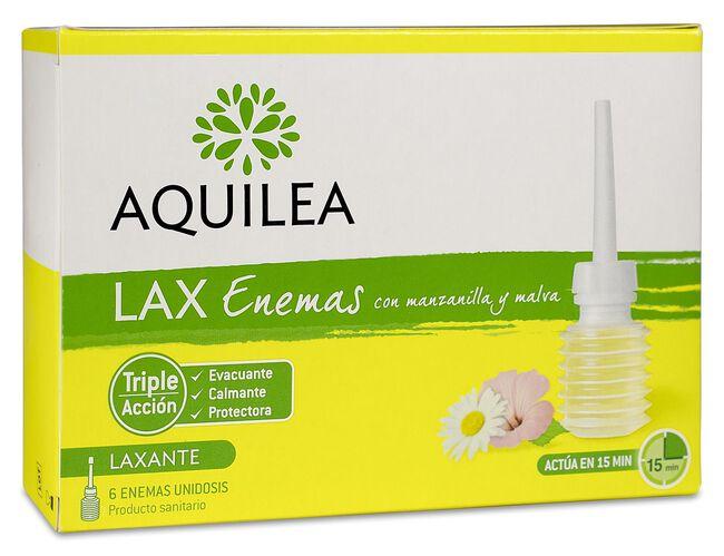 Aquilea Lax Enemas, 6 Uds