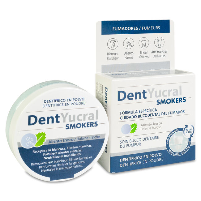 Eucryl Fumadores Dentífrico en Polvo, 1 Ud
