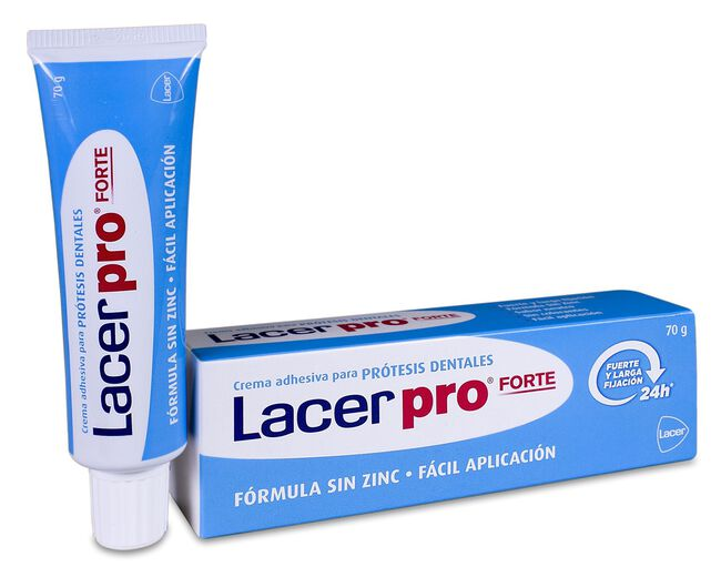 Lacer Pro Fuerte Fijación Prótesis, 70 g
