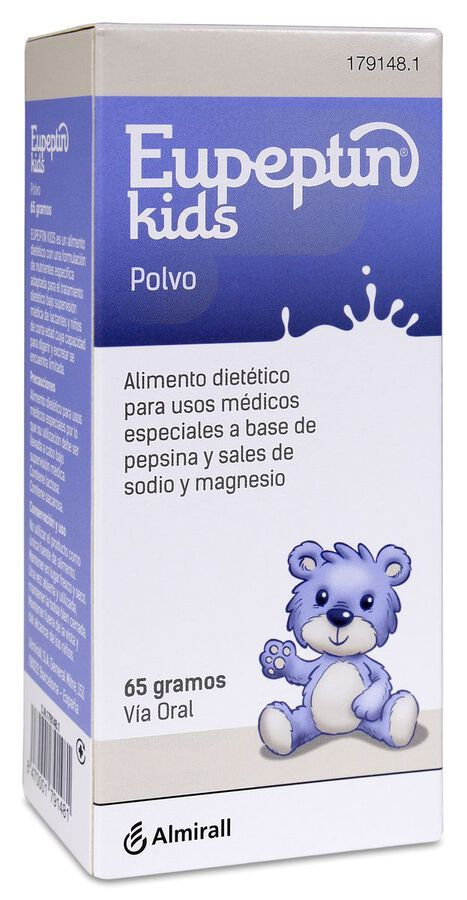 Eupeptin Kids Polvo, 65 g